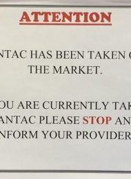 Zantac warning